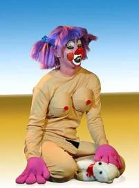 From Cindy Sherman's clown series