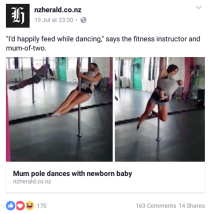 A typical NZ Herald story