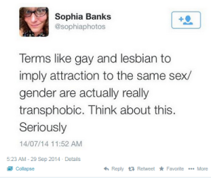gay and lesbian