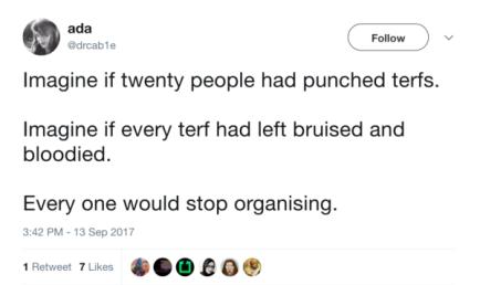 Punch terfs