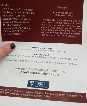 New Zealand universities fully support gender identity.